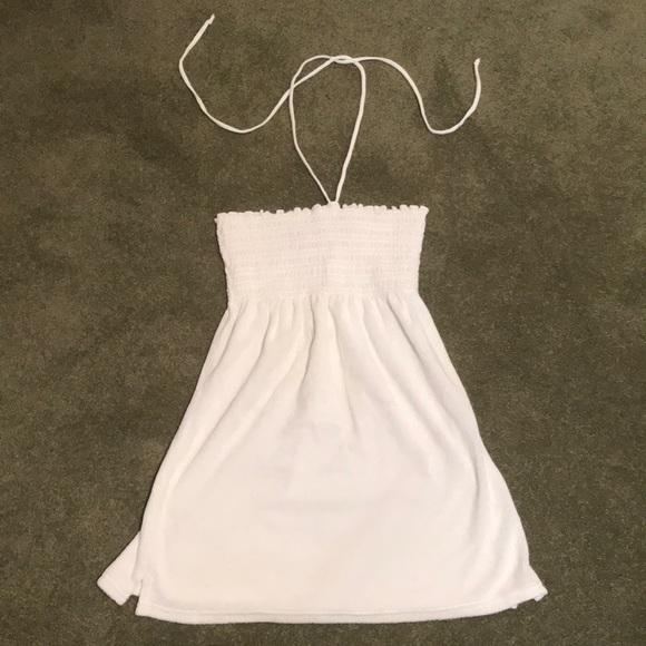 7e3be1571aa34 Juicy Couture Swim | White Terrycloth Beach Coverup Dress | Poshmark